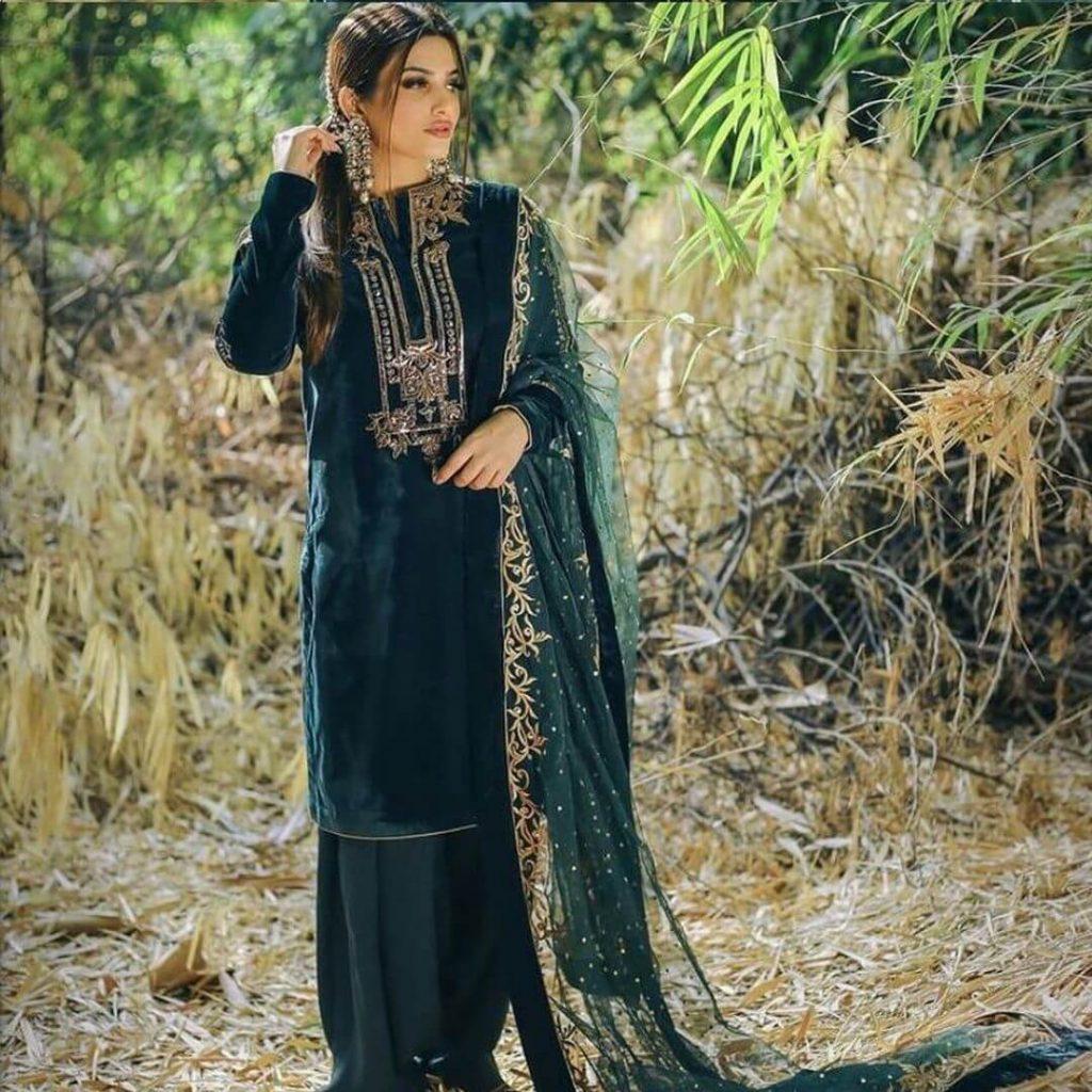 velvet suit with patiala salwar