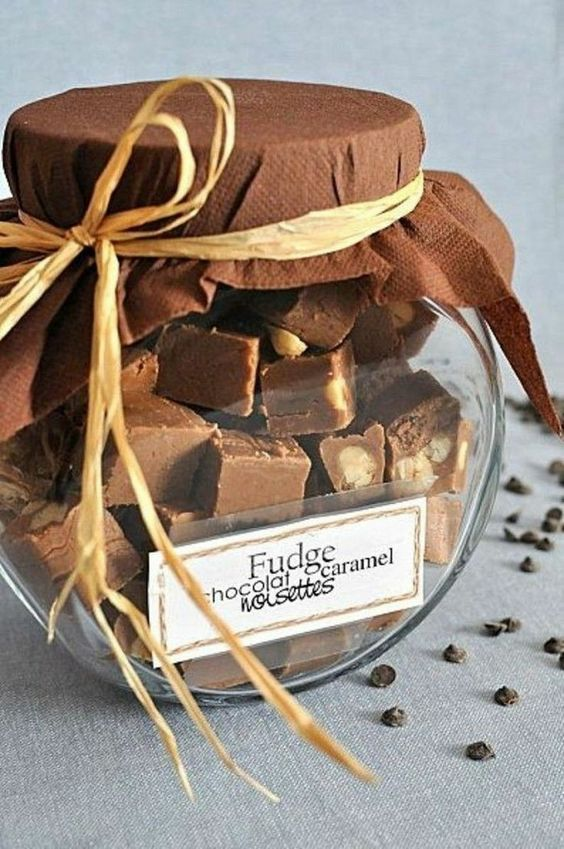 chocolate for winter wedding favors