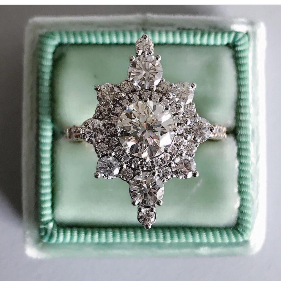 chunky wedding ring design