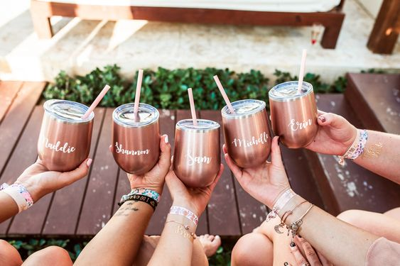 customized tumblers for bridesmaids