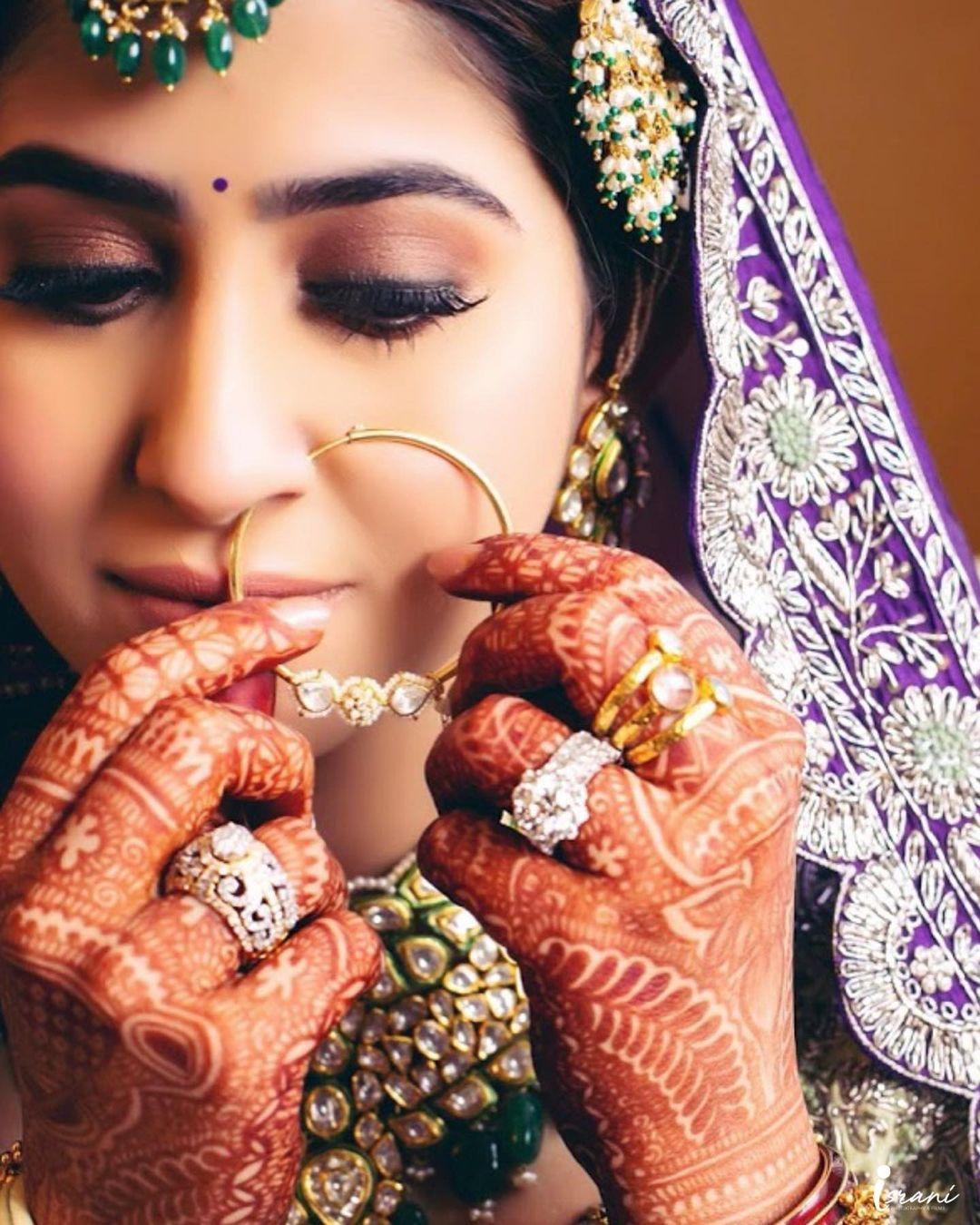 dainty bridal nath