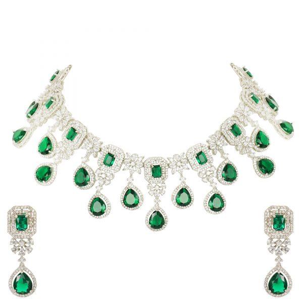 diamond and emerald jewellery
