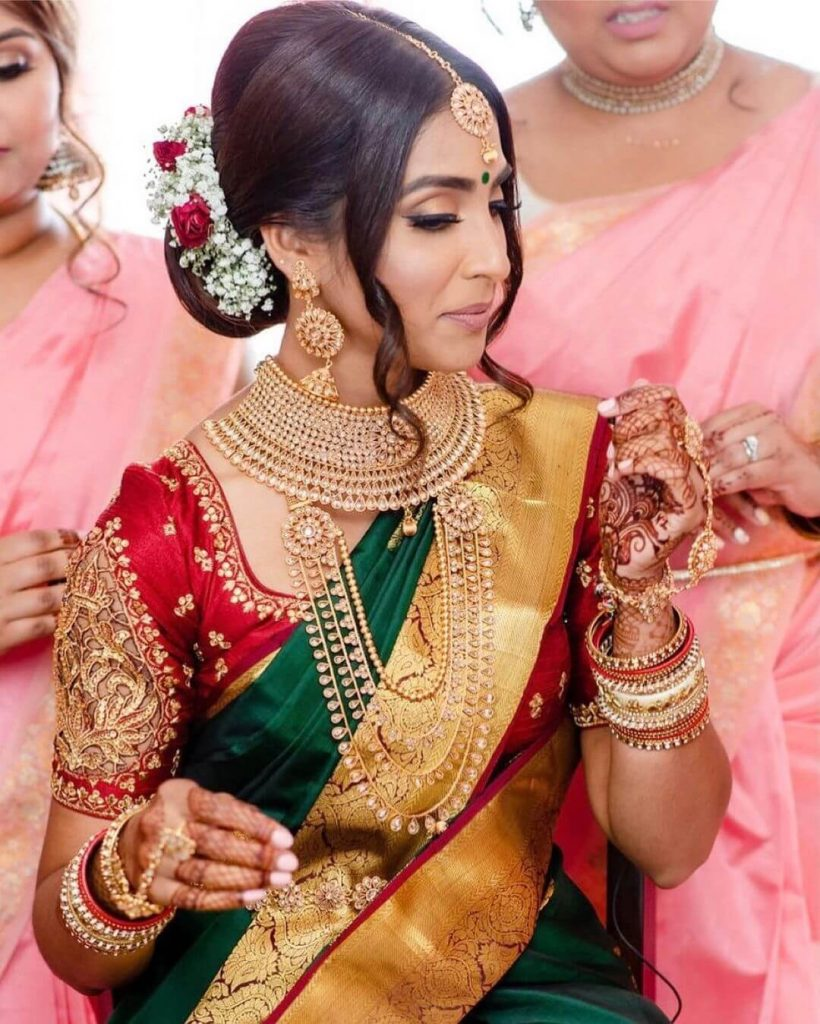 gold bridal jewellery