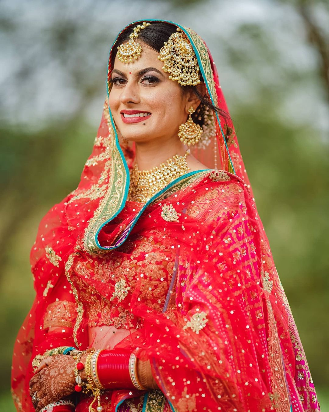 jhoomar passa sikh bride