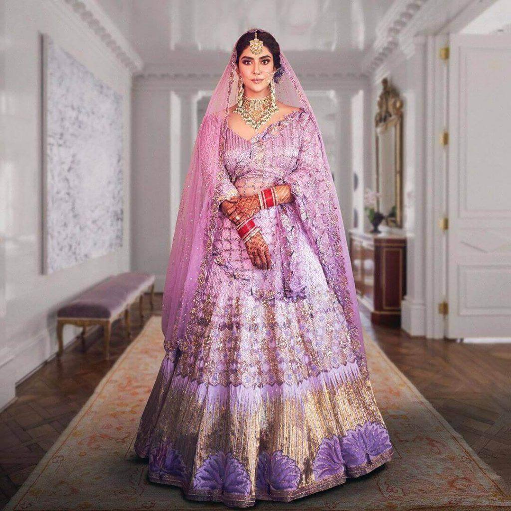 lavender bridal dresses