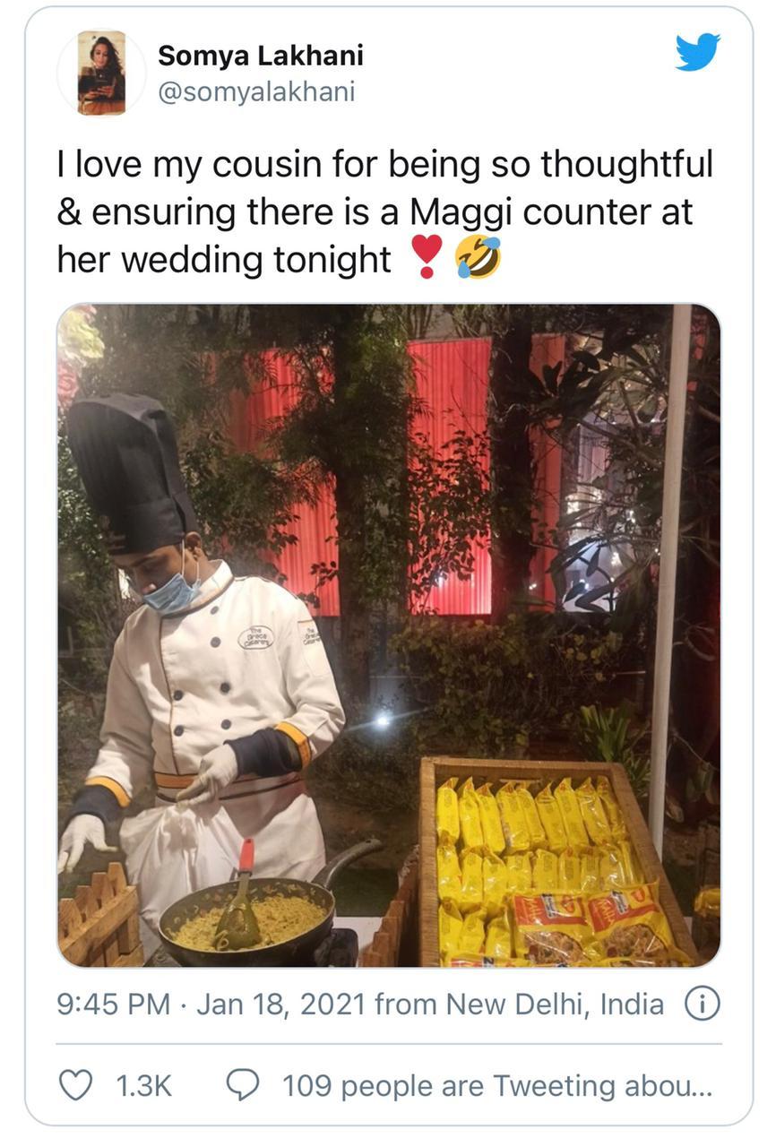 live maggi counter