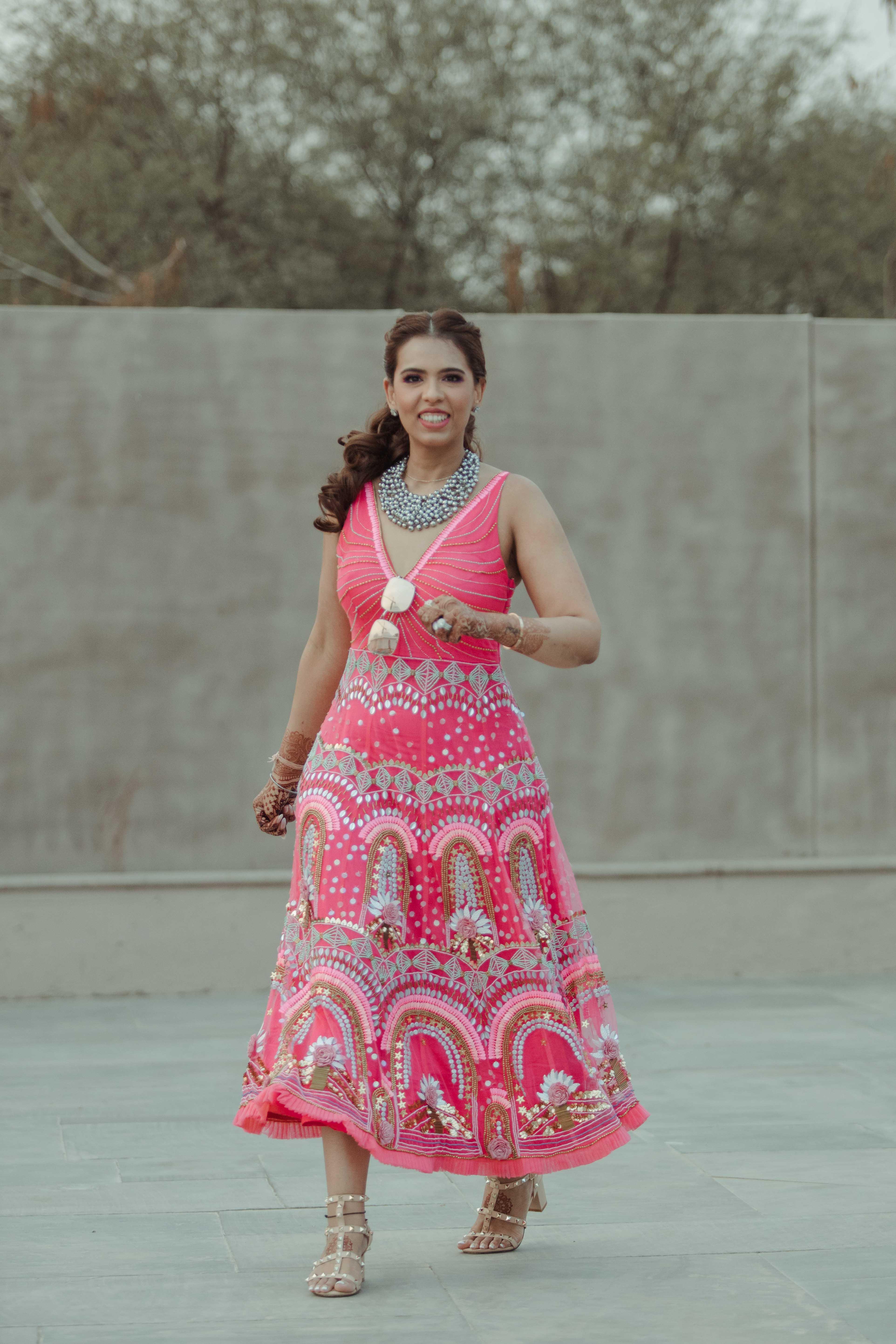 mehendi dress