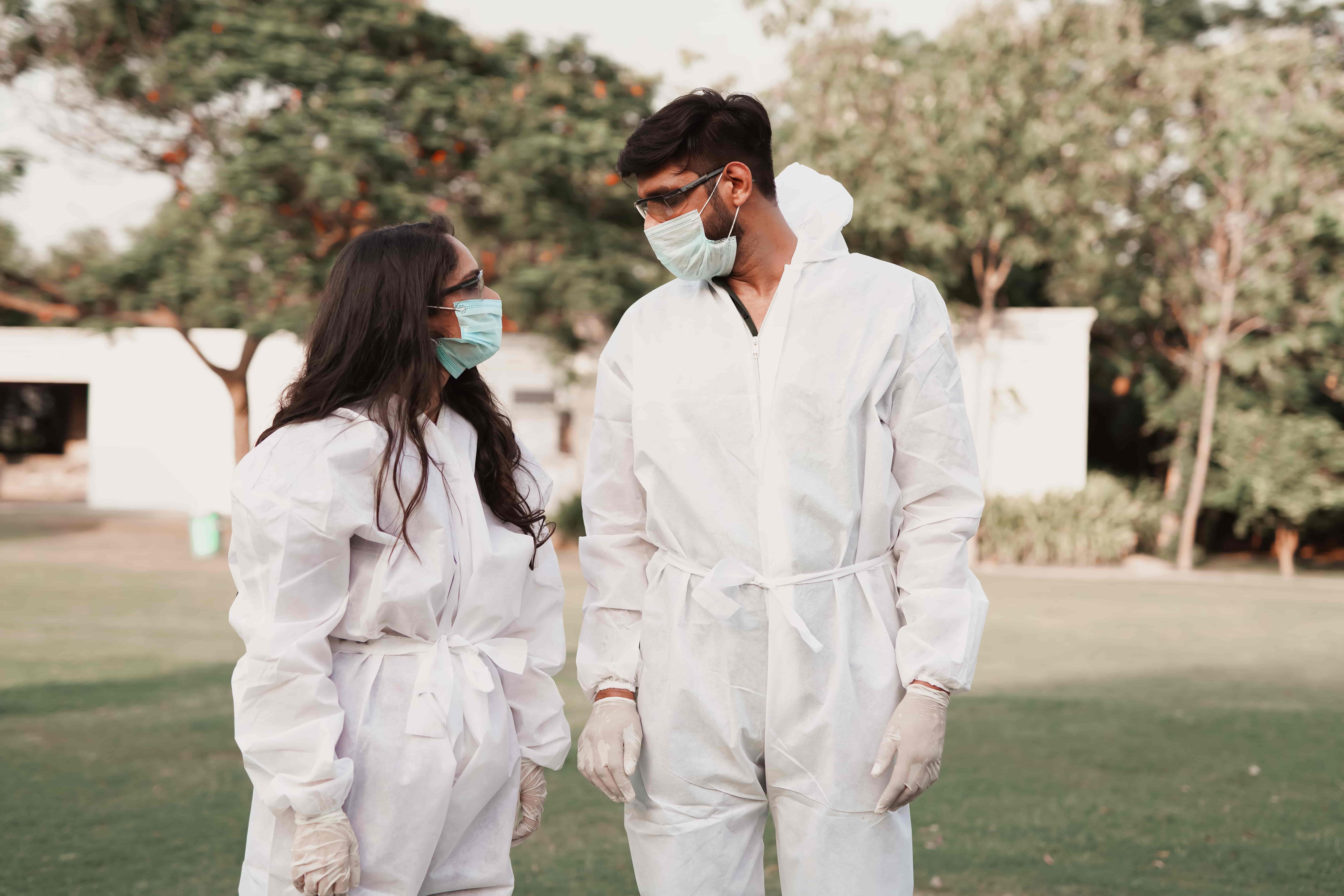 pandemic pre-wedding shoot
