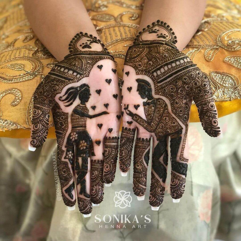 bridal mehndi trends