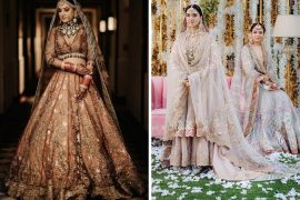rimple and harpreet bridal lehengas