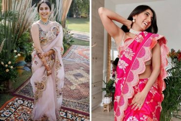 scalloped sarees