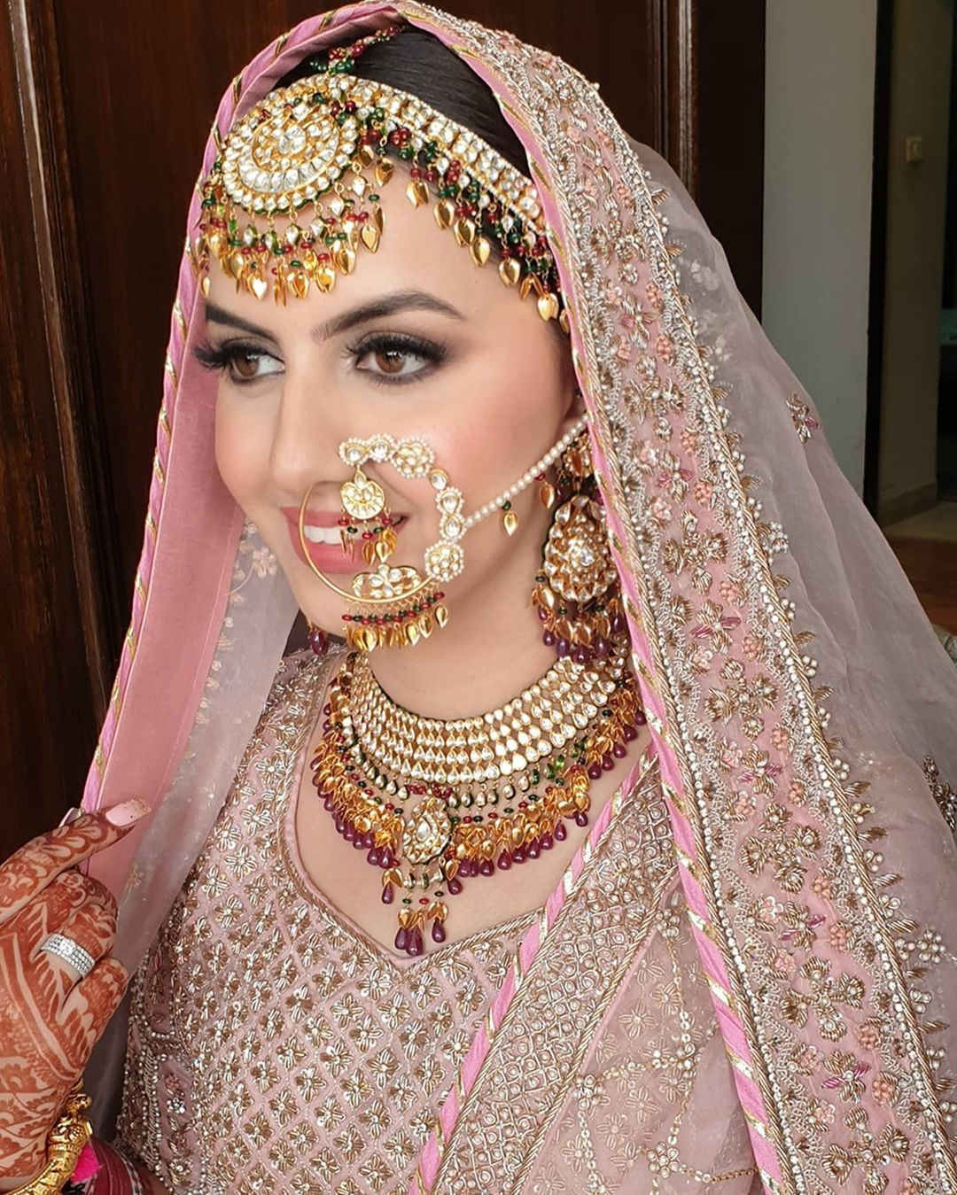 sikh bride jewellery