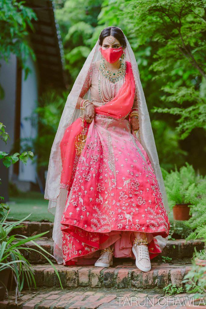surbhi sethi wedding look