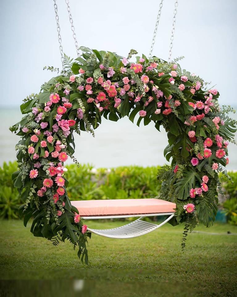 swing decor for weddings