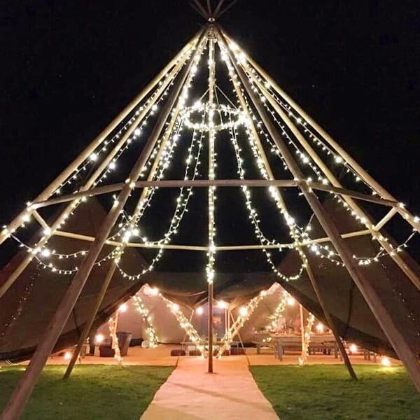 teepee tents decor