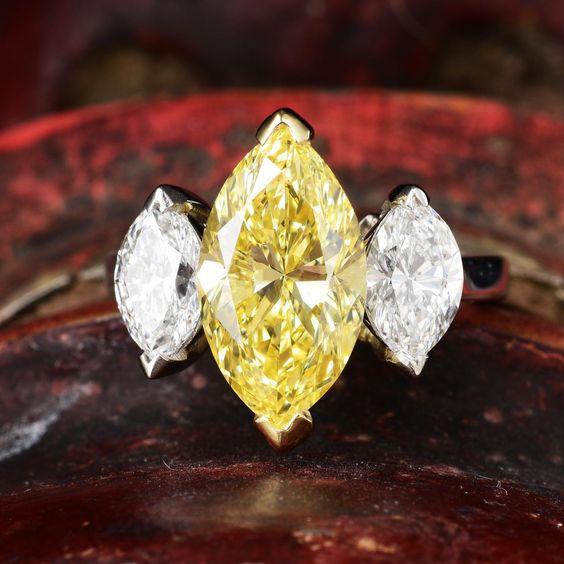 three stone wedding ring