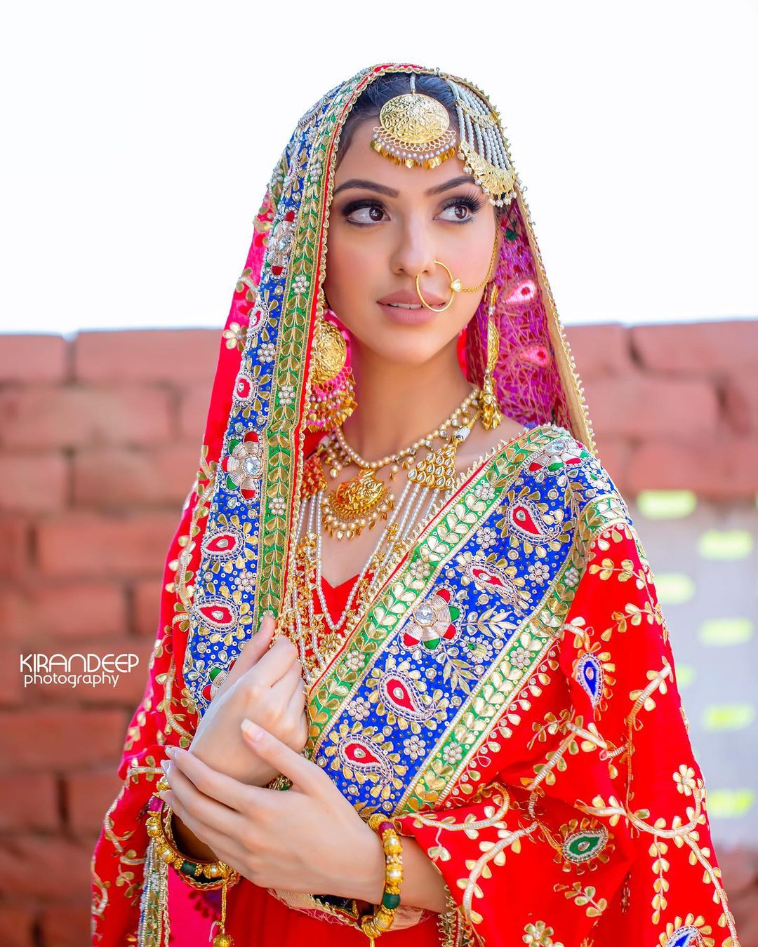 traditional sikh bridal jewellery