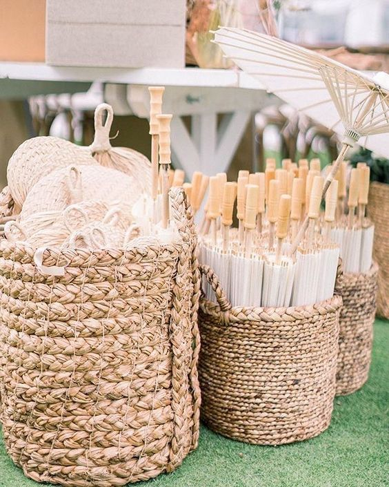 umbrella holder baskets