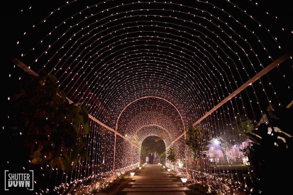 fairy lights decor for weddings