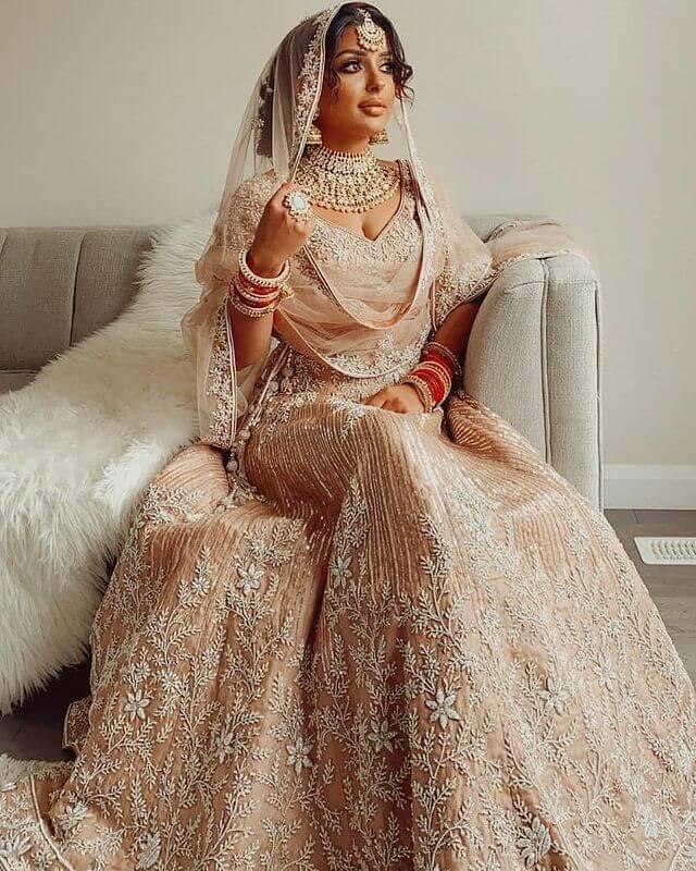 zardosi bridal wear