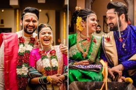 Marathi Actors Mithali & Siddharth's Wedding