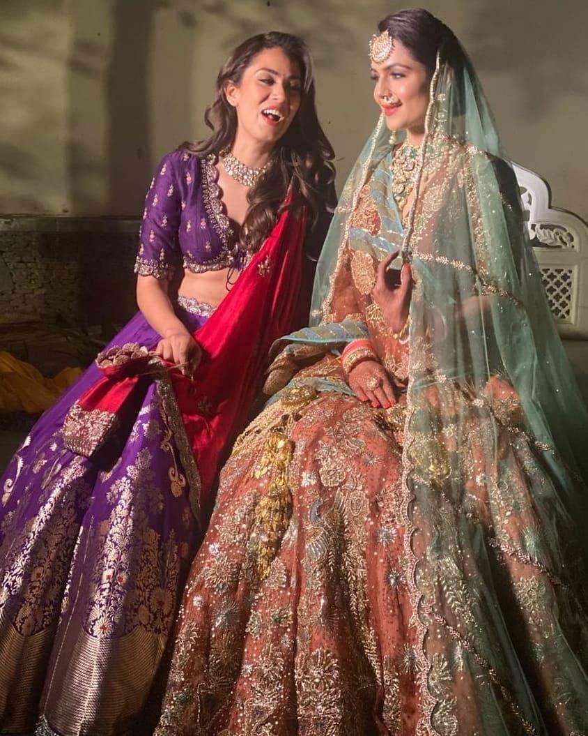 Mira Kapoor and Sejal Kukreja wedding pictures