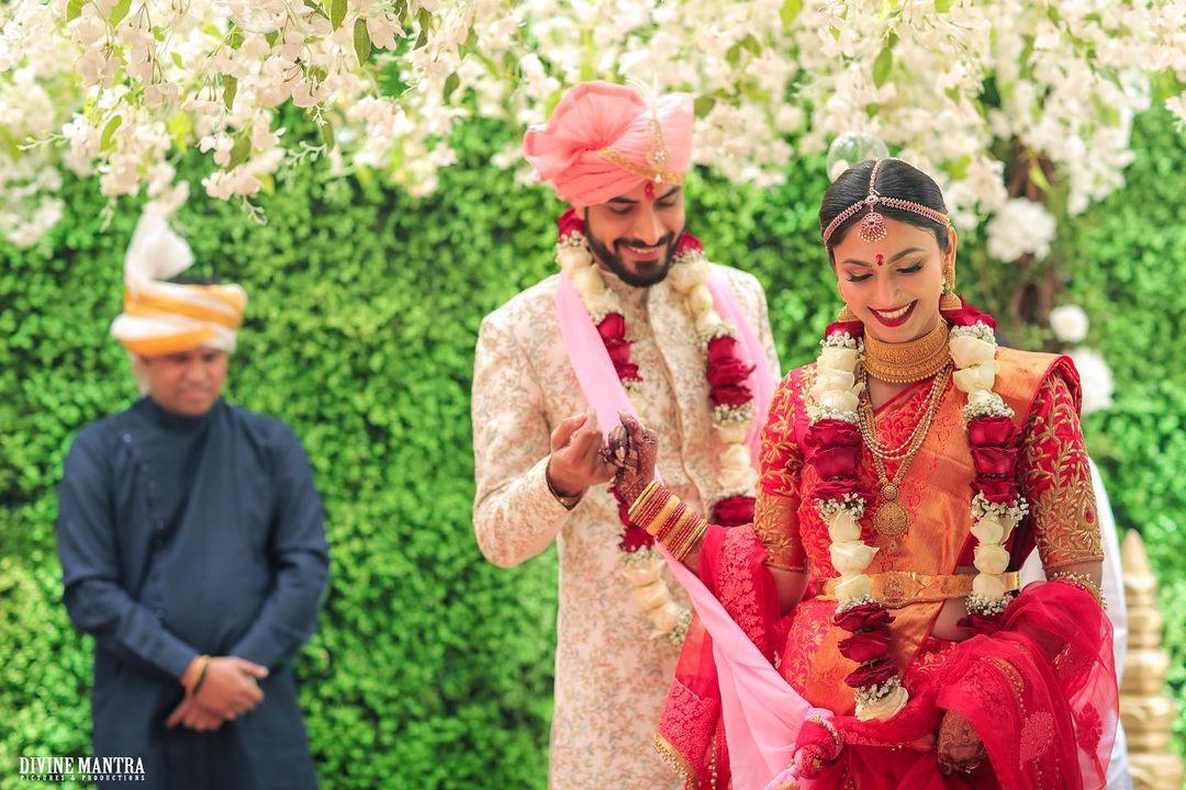 Shamata Anchan & Gaurav Verma wedding