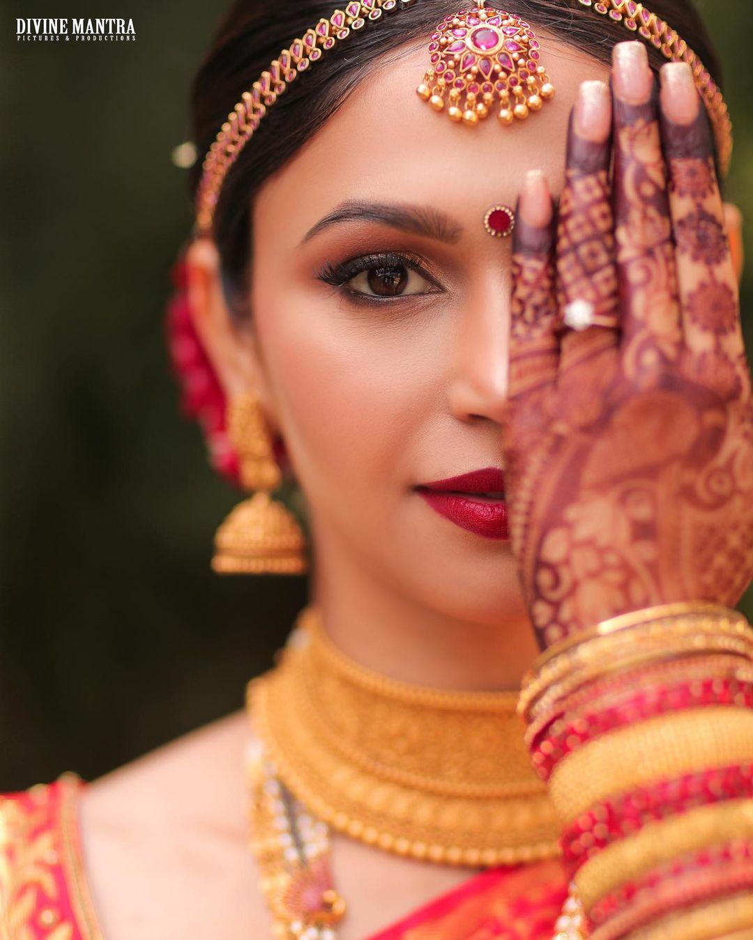 Shamata Anchan bridal photos