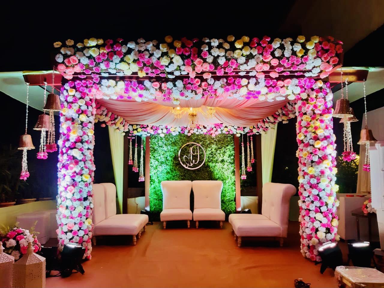 Tamanna C wedding decor