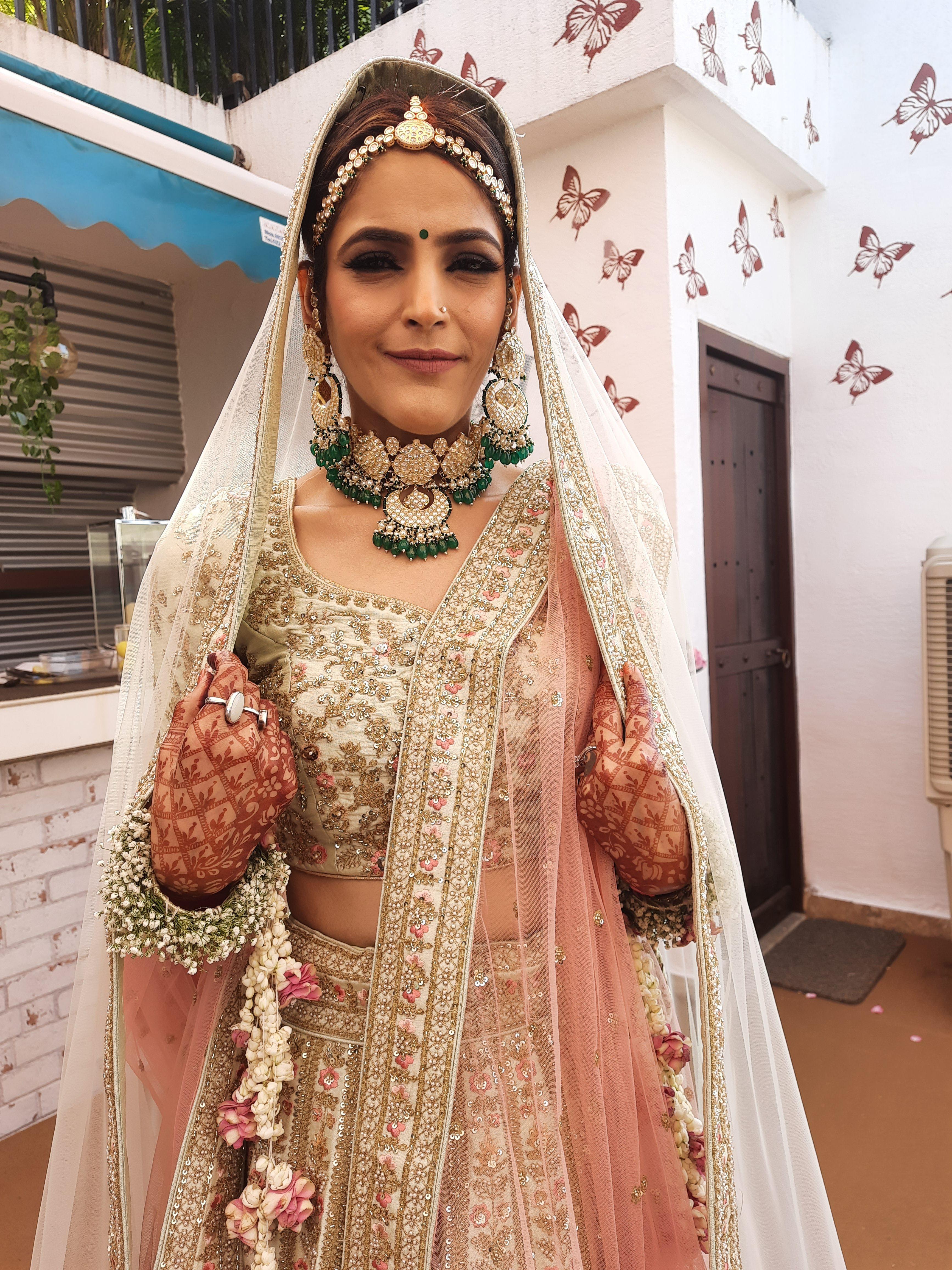 Tamanna C's bridal lehenga