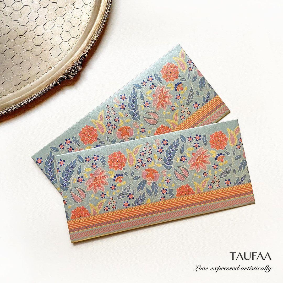 Taufa design shagun envelope