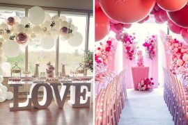 Ways to Use Balloons in Wedding