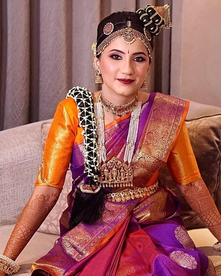 tamil bridal hairstyles