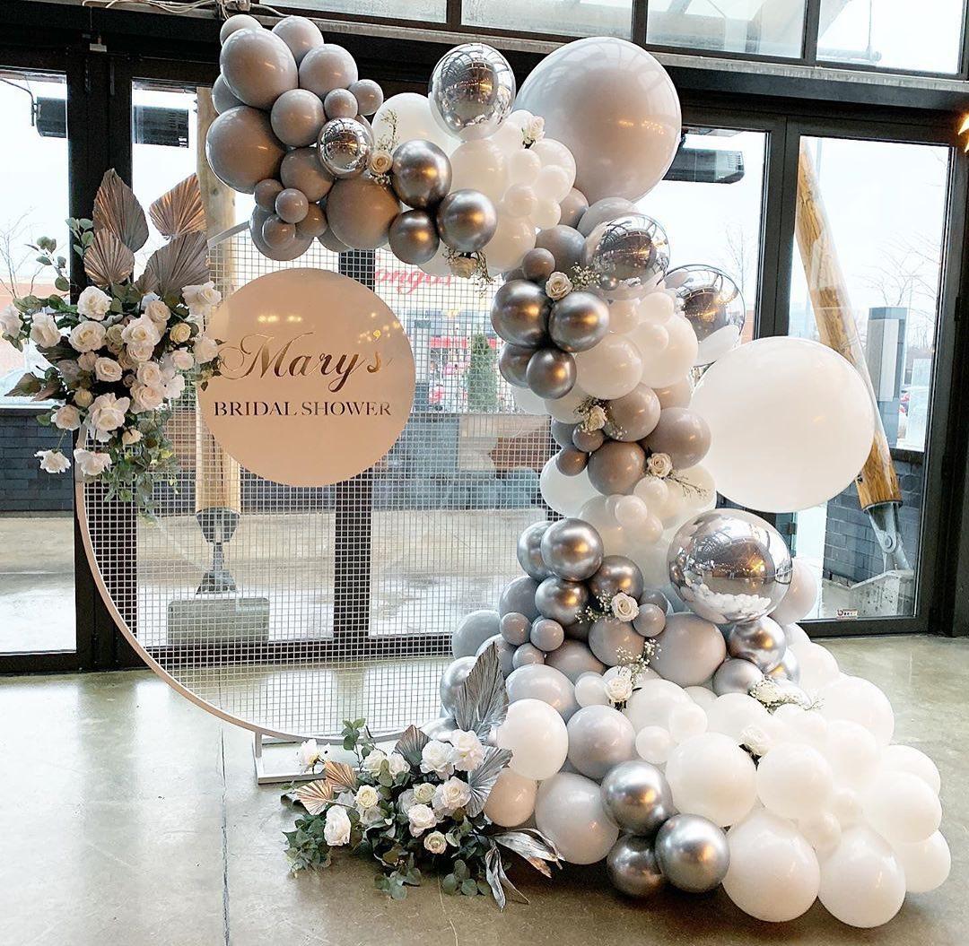 balloon decor in wedding