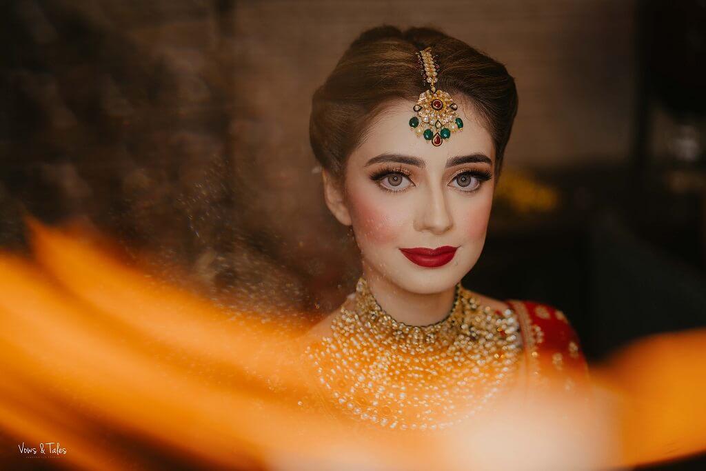 bold wedding makeup