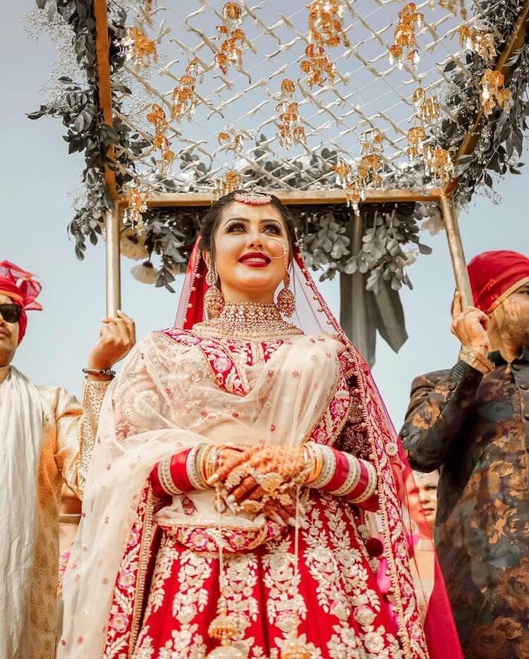 unique bridal entry ideas