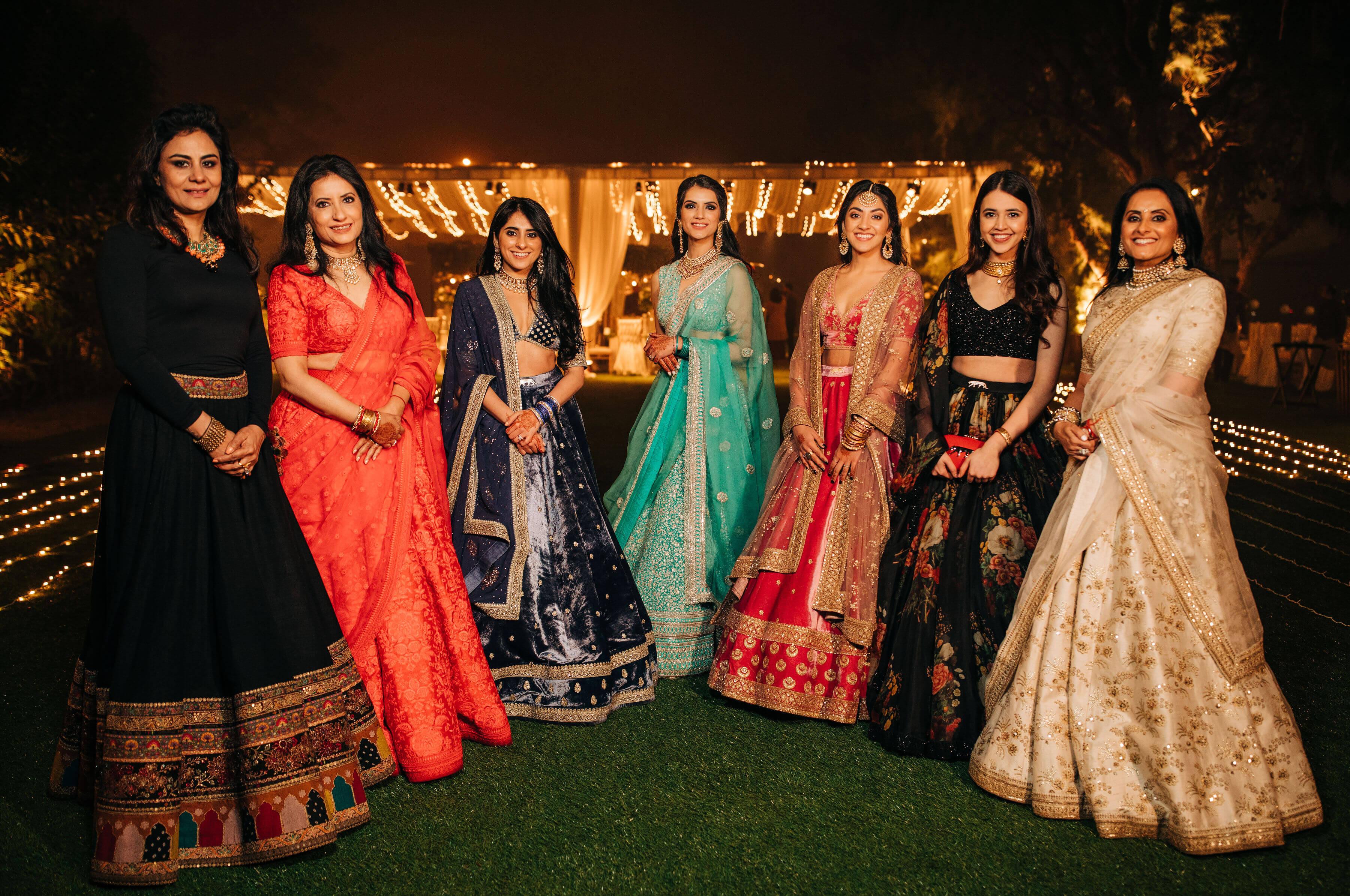 bride & sisters shot