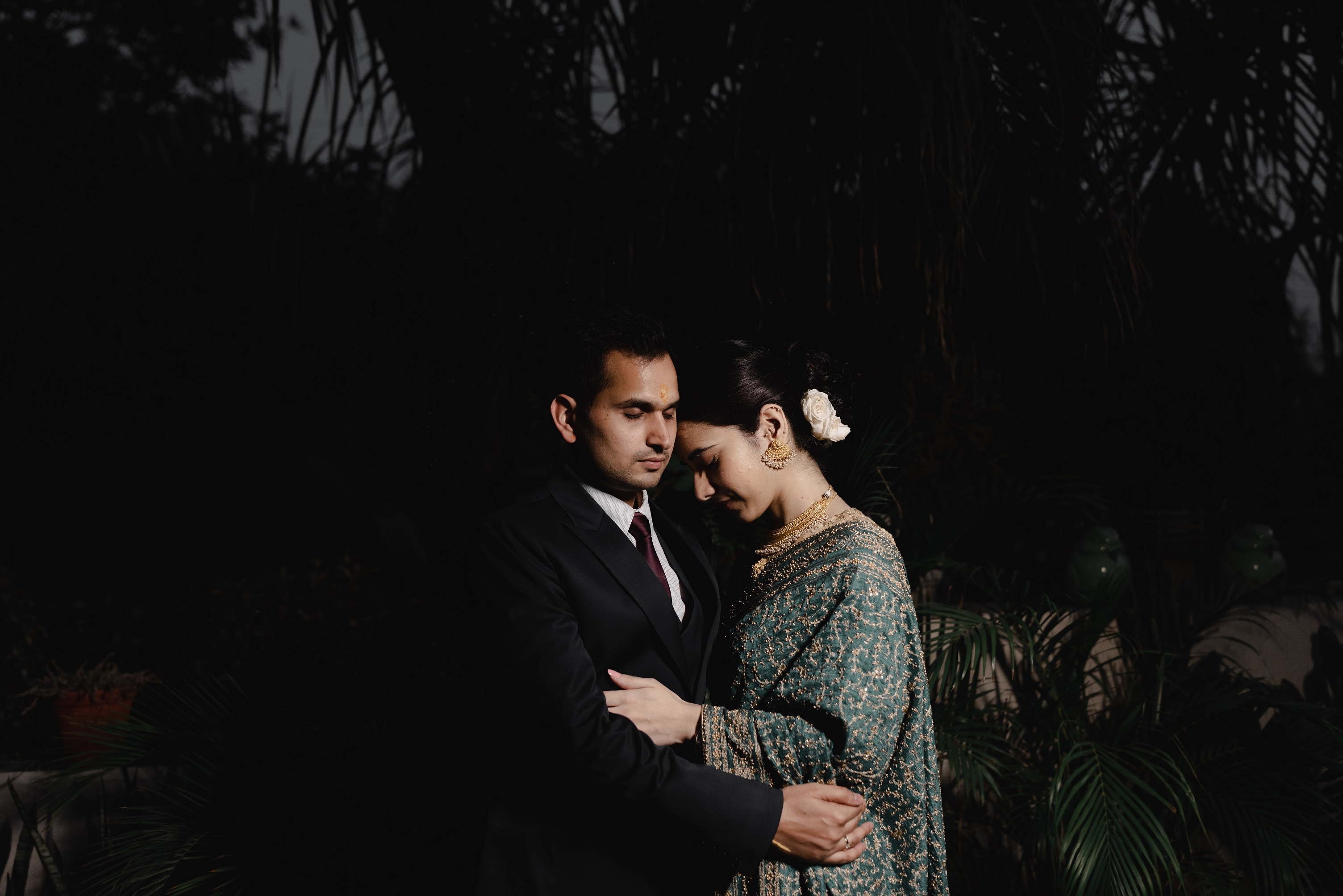 couple wedding shoot