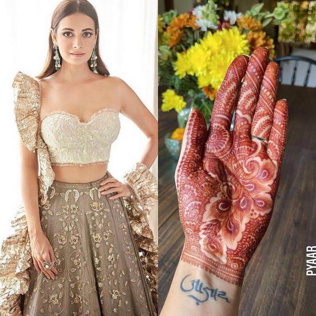 bridal mehendi ideas