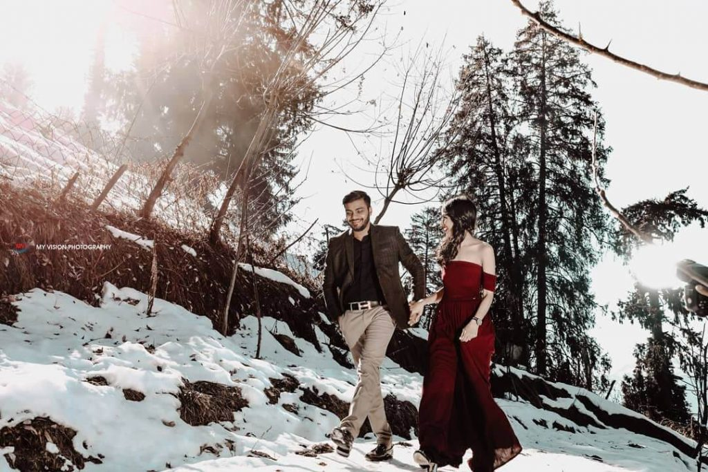 hill stations for pre-wedding