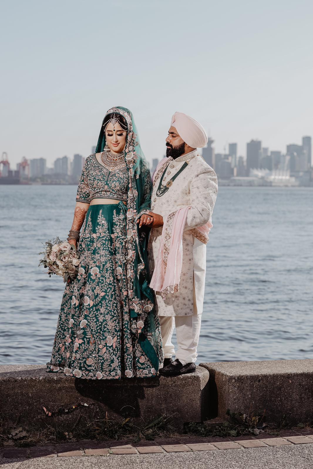 intimate wedding in Canada