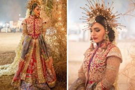 Pakistani bridal attire