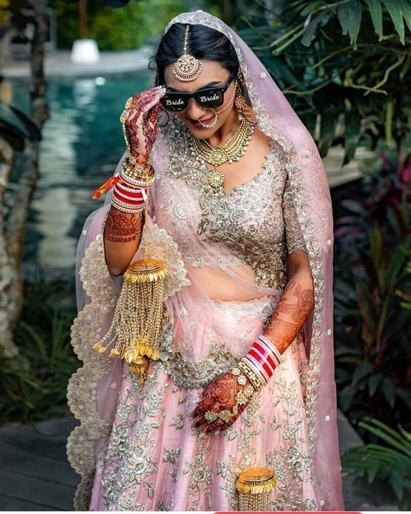 personalised bridal sunglasses
