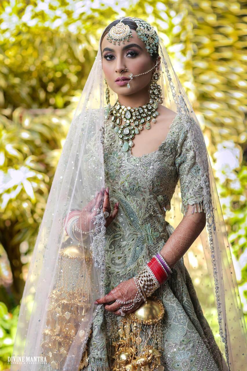 punjabi bridal look