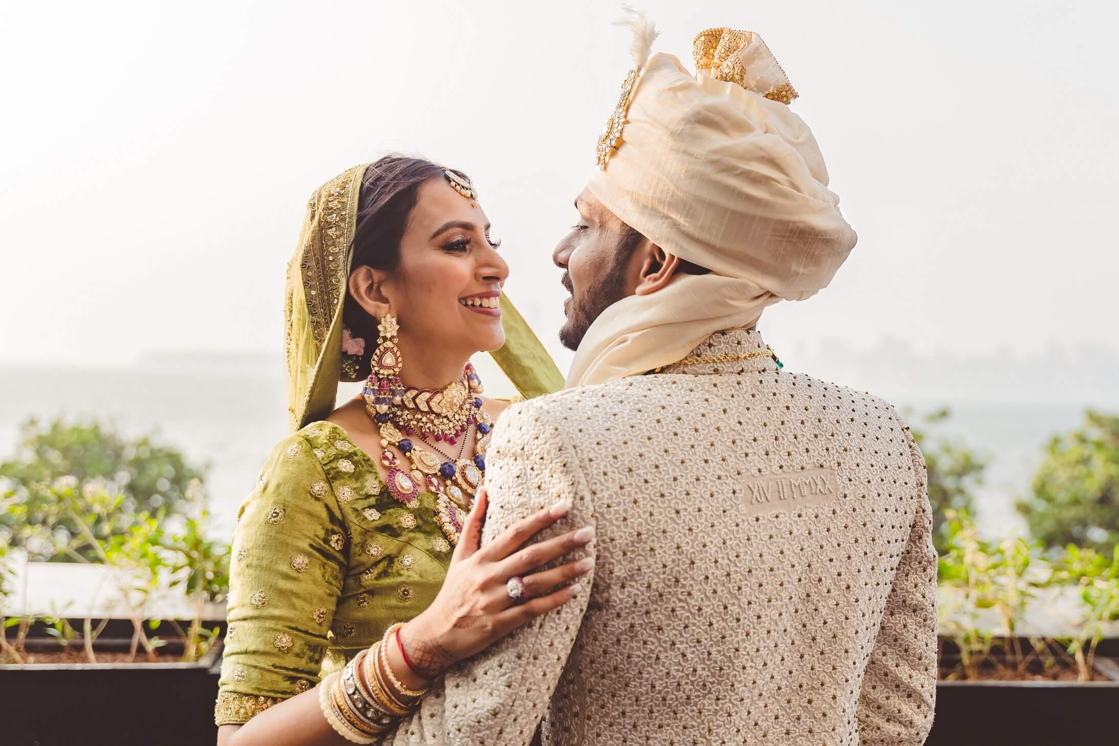 romantic gujarati couple