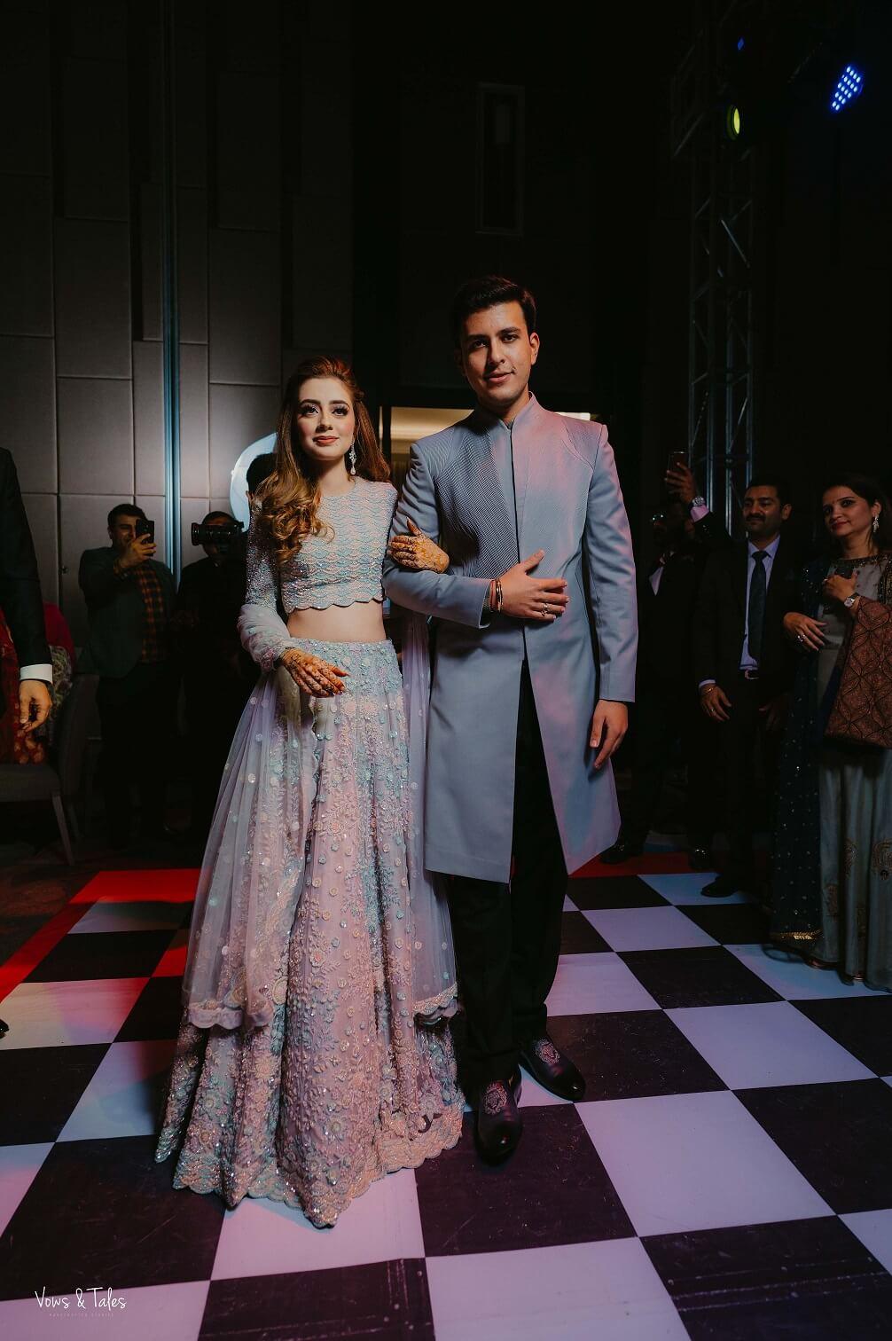 sangeet couple entry