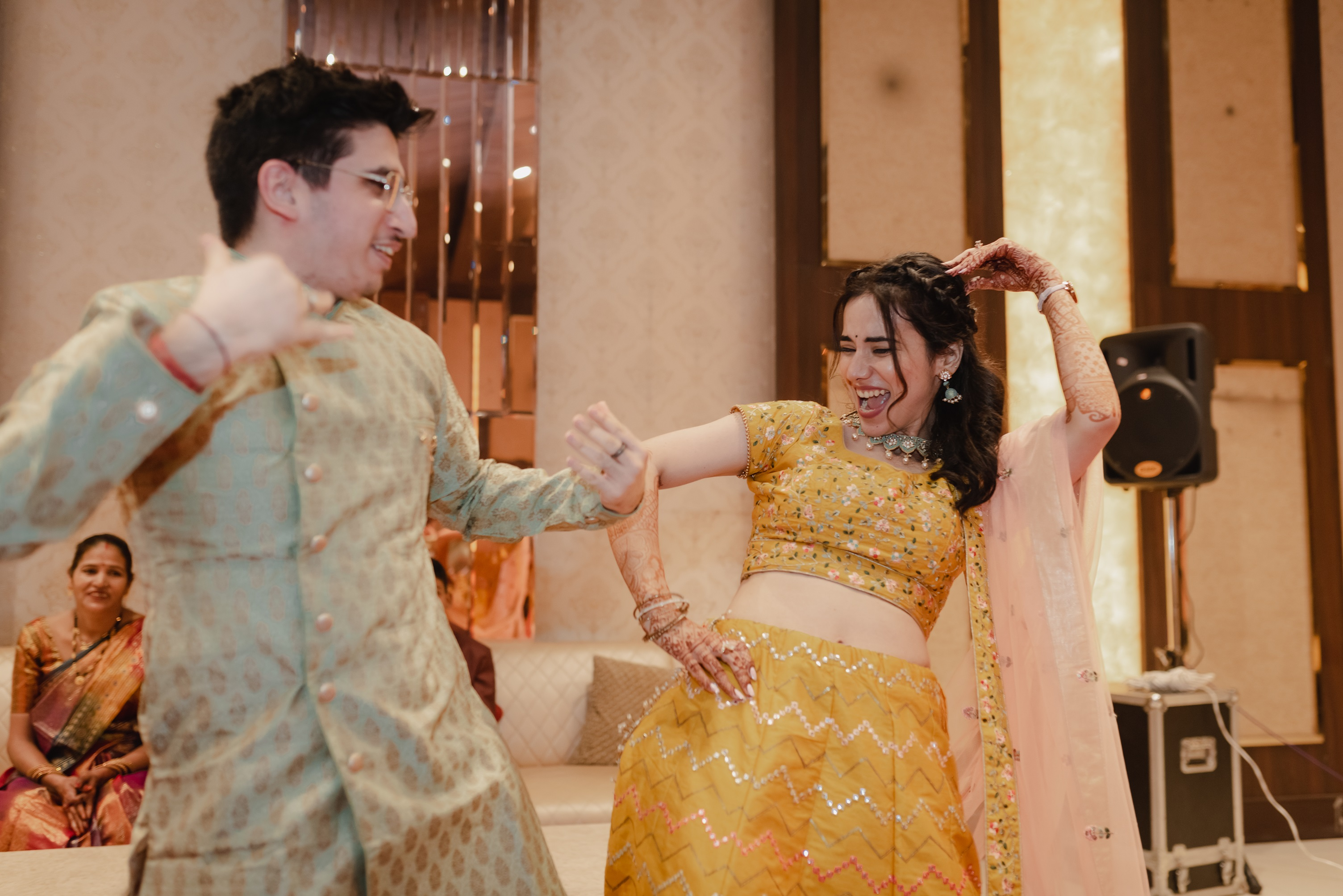 sangeet night pictures
