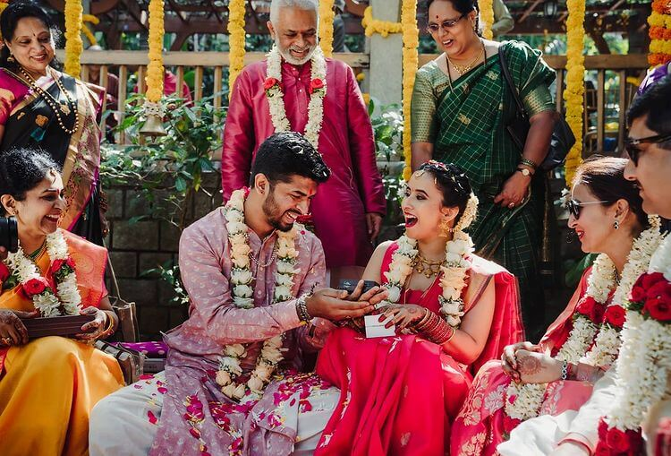 South Indian Grooms In Pastel