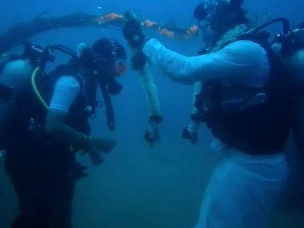 underwater wedding ideas