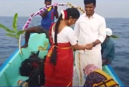 chennai couple underwater wedding